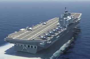 INS Vikrant Aircraft Carrier Navy India Technical Data 005