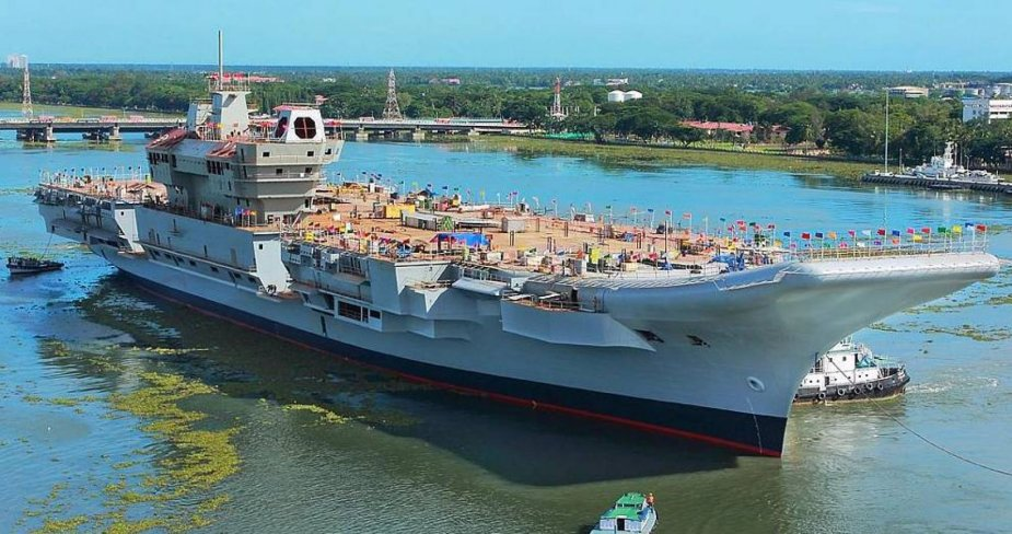 INS Vikrant Aircraft Carrier Navy India Technical Data
