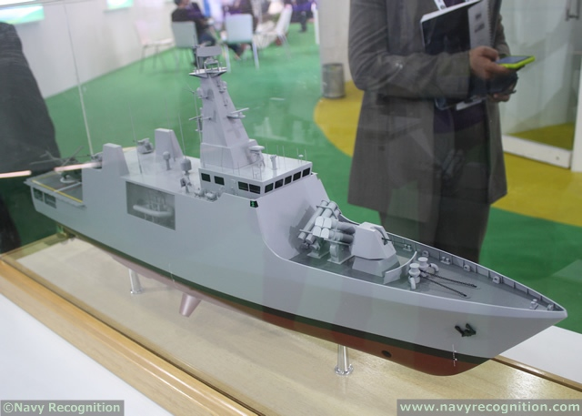 At DEFEXPO 2014, Indian shipbuilder Goa Shipyard Limited unveiled for the first time a new 75 meters Offshore Patrol Vessel (OPV) design. According to a Goa shipyard representative, this new OPV which is partially based on the existing 105 meters Saryu class OPV, is mainly intended for the export market.