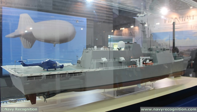 "At DEFEXPO 2014, the international Defence exhibition currently held in New Delhi, Indian shipyard PIPAVAV unveiled its new ""Naval Offshore Patrol Vessel"" design. The basic design of this new type of OPV was outsourced to a US based ship design company."