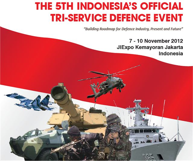 The 5th Tri Service Defence event of Indonesia , its INDO DEFENCE, INDO AEROSPACE and INDO MARINE Expo. These events are intended to become one of the marketing platforms for companies to cope with fiercely competitive, global industry where technology development and deployment is the key to exploiting new markets and winning market share.