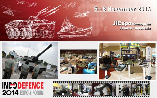 Get set for Indonesia's Premiere International Tri-Service Defence Expo & Forum – INDO DEFENCE 2014 from 5 - 8 November 2014 at the Jakarta International Expo (PRJ) Kemayoran, Jakarta-Indonesia. Hosted by Ministry of Defence, INDO DEFENCE 2014 Expo & Forum is recognized by the industry as the indispensable place to be, to learn, to network and to do business.
