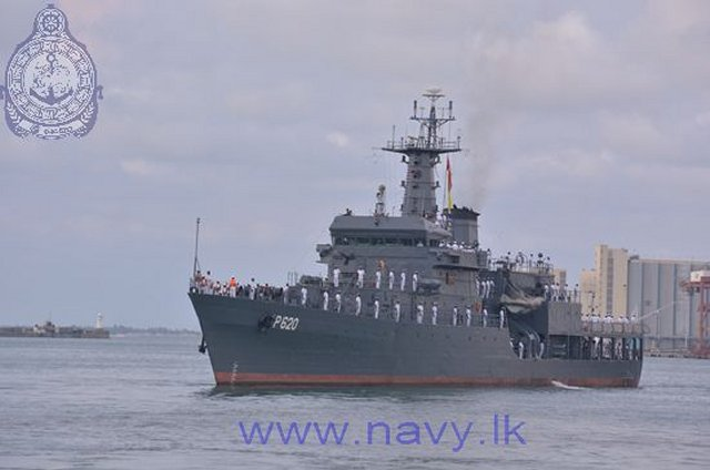 Sri Lanka Navys Flagship SLNS Sayura is sailing off to Malaysia for LIMA 2017 640 001