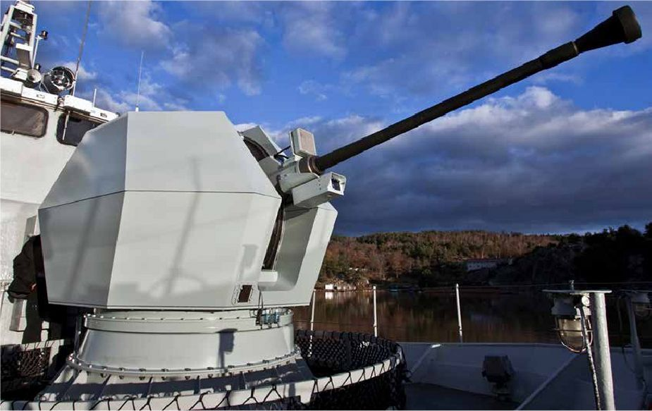 BAE Systems presents its full range of naval guns at LIMA 2019 Langkawi Malaysia 925 002