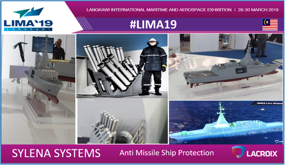 LIMA 2019 Lacroix displays its wide range of defense products 1