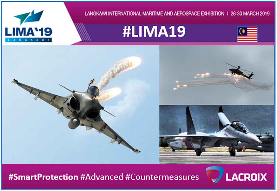 LIMA 2019 Lacroix displays its wide range of defense products 2