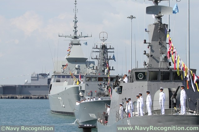 Pictures: RSN International Maritime Review Ceremony