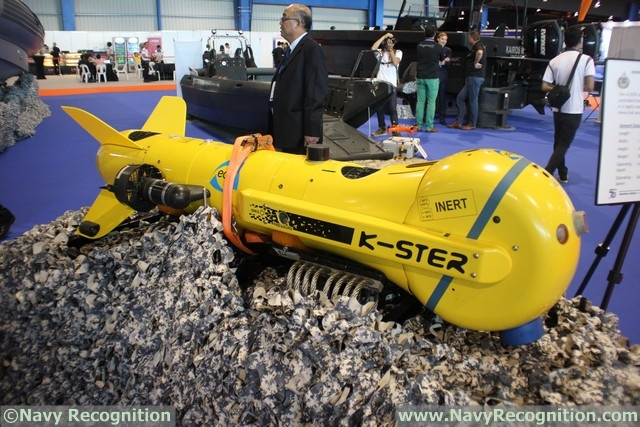 RSN's K-Ster Expendable Mine Disposable System at IMDEX Asia 2017