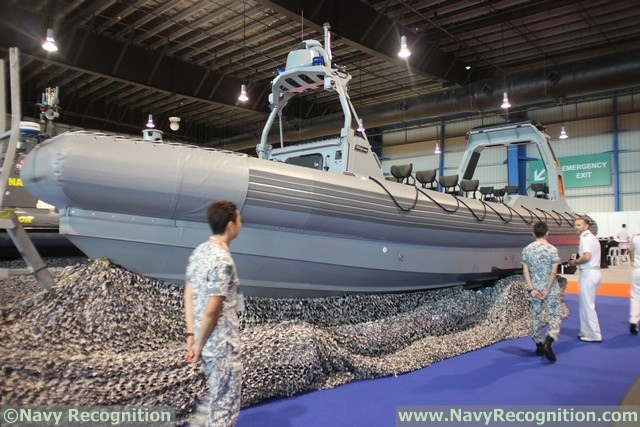 RSN's Combatant Craft Medium at IMDEX Asia 2017