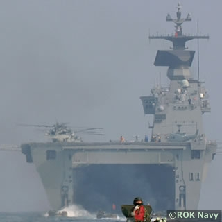 Dokdo class LPH - ROK Navy - also known as LPX, Landing Platform Helicopter, Amphibious Assault Ship