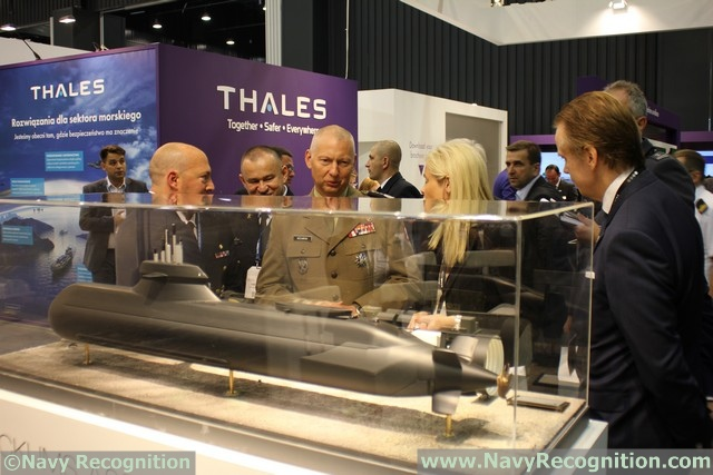 At the Balt Military Expo 2016 naval defense exposition currently underway in Gdansk, Poland, Swedish company Saab is showcasing a model of the A26 submarine. According to Saab, the Kockums A26 is a unique submarine with proven modular design, silent long-endurance submerged performance and excellent manoeuvrability in all waters.