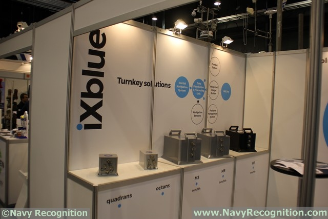 iXBlue, a global leader in naval and civil navigation and positioning systems, is showcasing its new MARINS M series INS at Dimdex 2016, in Doha, Qatar. The series includes the MARINS M3, M5 and M7 systems and is designed to address the needs of the world's most advanced navies for surface-vessel and submarine operations in littoral and open-sea environments.