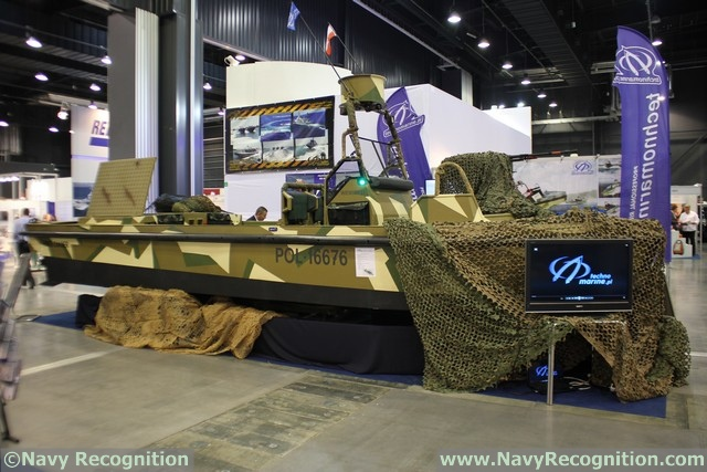 Technomarine, a Polish company specialized in the production of professional boats ranging from 7 to 16 metres in length, showcased for the first time its River Chaser a mobile fast reaction boat at Balt Military Expo 2016.