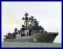 A Russian joint naval task force on a training mission in the Mediterranean has conducted two-day tactical exercises with live-firing drills, the Defense Ministry said. The task force comprises three large amphibious assault ships, two Neustrashimy class frigates, an Udaloy class destroyer and two support ships from Russia's Northern, Baltic and Black Sea Fleets.