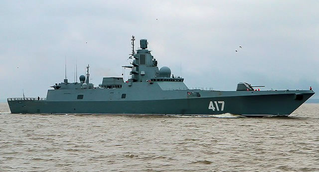 Admiral Gorshkov class (Project 22350) Frigate - Russian Navy