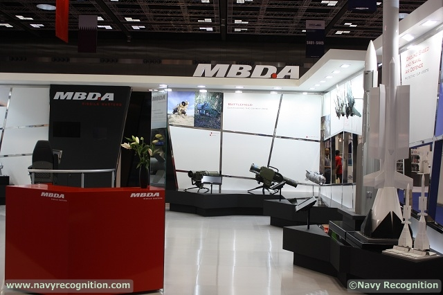 With recent successes achieved in the region by MBDA's VL MICA self and local area naval air defence system, this product is showcased in a prominent position on the company's stand at DIMDEX.