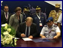During DIMDEX 2014 Thales signed a memorandum of understanding (MOU) with the Qatar Armed Forces to assist in the development of an Optionally Piloted Vehicle – Aircraft (OPV-A), a high performance Intelligence, Surveillance, Target Acquisition and Reconnaissance (ISTAR) system, and the delivery of a full end-to-end training solution.