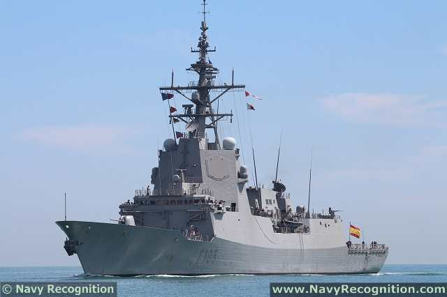 The U.S. Navy conducted a series of cooperative air defense test exercises with the Spanish Navy that culminated in live missile firing events using the latest Aegis Weapon System, July 20-21. This event was not only the first interoperability test of the latest Aegis Baseline 9.C1 with a foreign ship, but also the first combined Combat Systems Ship Qualification Trial with that country's navy since 2007. The destroyer USS Arleigh Burke (DDG 51) and the Spanish frigate Cristobol Colón (F 105) participated in the testing.
