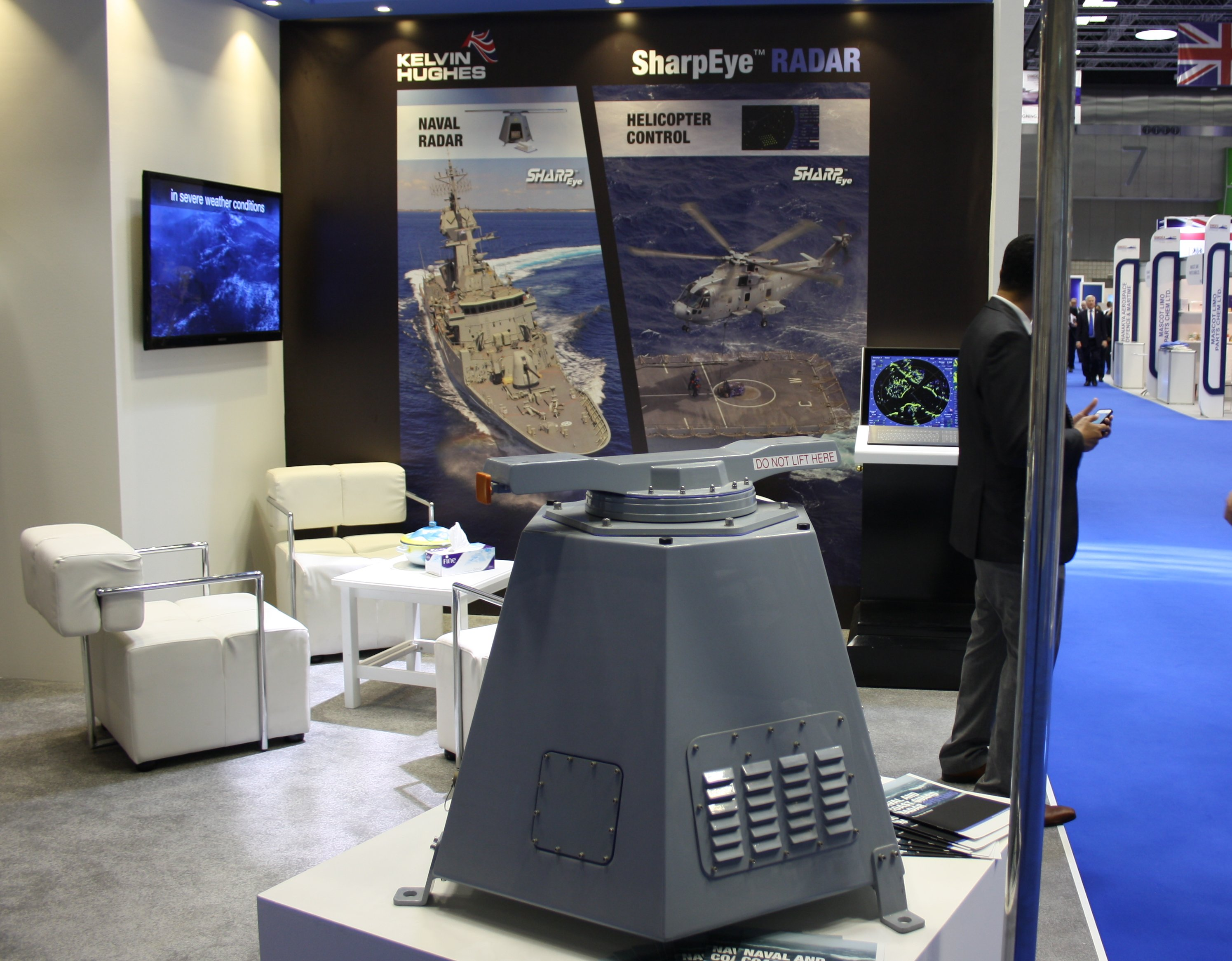 Kelvin Hughes, a world leader in the design and supply of navigation and security surveillance systems, has been contracted by Rodman Polyships to supply X and S band SharpEye™ radar systems for a range of new vessels being supplied to the Royal Oman Police Coast Guard (ROPCG).