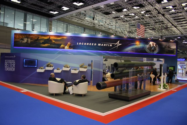 Lockheed Martin presents its range of products and systems at Dimdex 2016 such as the Lockheed Martin's Sniper Advanced Targeting Pod (ATP).