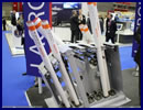 At the Doha International Maritime Defence Exhibition & Conference (DIMDEX 2016) currently underway in Qatar, French company Lacroix is showcasing for the first time its SYLENA MK2 decoy launcher. It is a multiple decoy launcher design to deploy three types of ammunitions: SEALEM, SEALIR and CANTO.