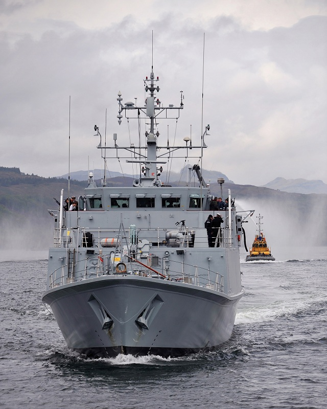 HMS Shoreham and Ramsey, two Sandown Class Mine Hunters will also be at NAVDEX