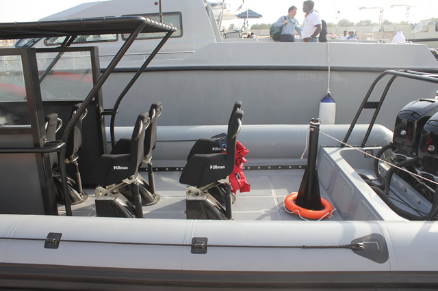 Ullman Dynamics is the world-leading brand in Suspension seats for professional High Speed Boats Ullman Suspension seats of different models were installed on 70% of the boats displayed and demonstrated at the show.