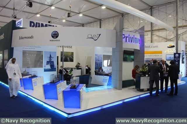 French shipyard CMN, part of Privinvest holding company, is showcasing a new version of its famous Baynunah class corvette at NAVDEX 2015 defense exhibition held in Abu Dhabi. Navy Recognition was the first to report that the new Mk II evolution incorporates the latest innovations from CMN's research and development. Here are some additional details we learned at NAVDEX 2015.