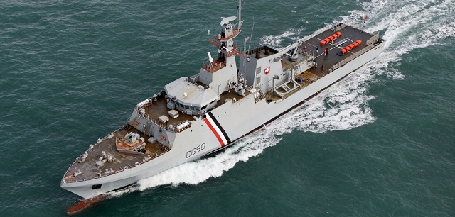 The Brazilian Navy could soon announce the purchase of offshore patrol vessels to BAE Systems. These three vessels built for the Trinidad and Tobago Coast Guards were ordered in 2007 and then turned down in 2010 after a change of government. The Brazilian Navy would also buy an optional five extra vessels of the same type.