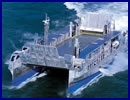 On January 9, 2012, the crew of the first Fast Amphibious Landing Craft (EDA-R) has completed its phase of operational readiness. Mistral and EDA-R No. 1 set sail for the US East Coast to participate in Bold Alligator exercise, a major step in the Franco-American cooperation in the field of amphibious operations.