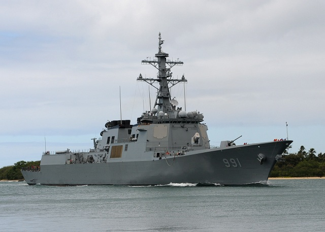 South Korea's Joint Chiefs of Staff( JCS) decided Tuesday to increase the number of its 7,600-ton Aegis destroyers from the current three to six by 2027 to strengthen its maritime combat capabilities against possible provocation from the Democratic People's Republic of Korea (DPRK).