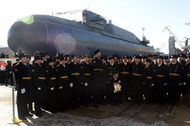 Zvezdochka Shipyard plans to deliver to the Russian Navy two nuclear-powered submarines and one diesel-electric submarine undergoing overhaul and upgrade at the shipyards by the end of 2012.