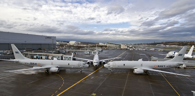 Boeing on Dec. 19 made an on-site delivery of the first P-8I aircraft to the Indian Navy in Seattle, in accordance with the contract.