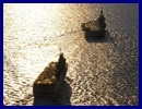 Royal Navy and Marine Nationale plan to deploy a large naval force in the Mediterranean in the fall of 2012.
