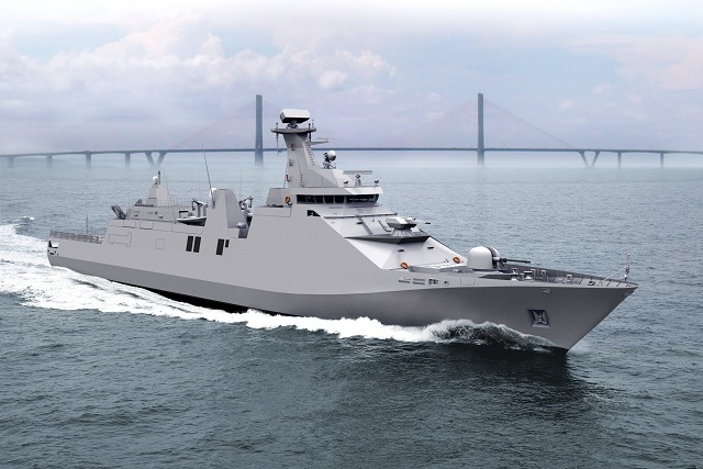 Thales announced the signing of a contract with the Dutch shipyard Damen Schelde Naval Shipbuilding for the delivery and installation of a full mission systems suite for the 2 PKR class vessels under construction for the Indonesian Navy.
