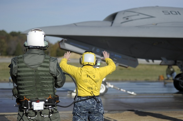 Northrop Grumman Corporation and the U.S. Navy have taken a first critical step toward demonstrating that the X-47B Unmanned Combat Air System (UCAS) demonstrator can be maneuvered safely and wirelessly on the crowded deck of an aircraft carrier.