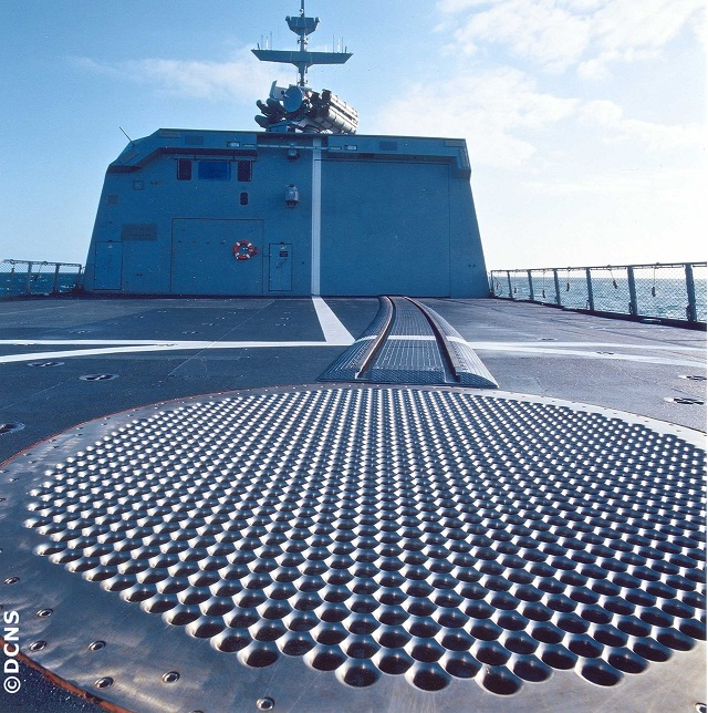 DCNS has been awarded two new contracts for landing grids compatible with helicopters and rotary-wing unmanned aerial vehicles. The grids will be installed on two new patrol boats under construction for China Marine Surveillance.