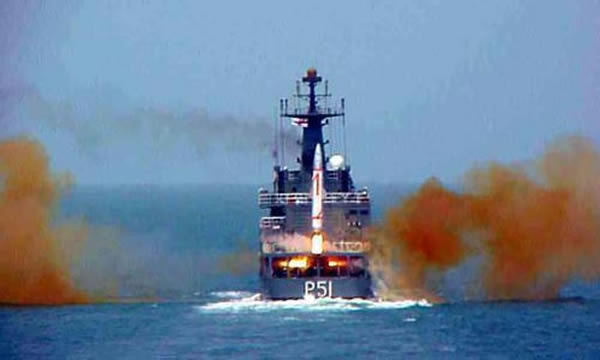 India on Friday tested its nuclear-capable ballistic missile Dhanush from an Indian Navy patrol vessel in the Bay of Bengal in Odisha, eastern India, reported Indo-Asian News Service.