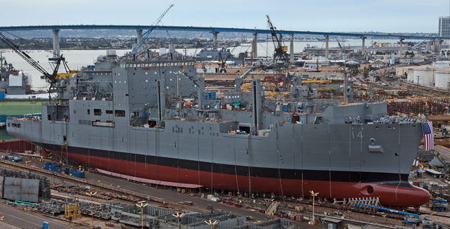 General Dynamics NASSCO today delivered USNS Cesar Chavez (T-AKE 14) to the U.S. Navy, marking the completion of a highly successful U.S. shipbuilding program that has spanned more than a decade.