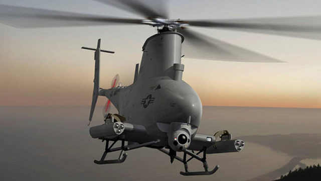 For the first time, the Advanced Precision Kill Weapon System (APKWS®) will be integrated onto an unmanned aerial vehicle, BAE Systems announced today. The company, which designed and manufactures the guidance section of the laser-guided rocket, was recently awarded a U.S. Navy contract to add the APKWS onto the MQ-8B Fire Scout UAV.