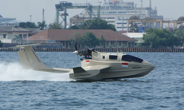 According to several South Korean media, Indonesian Navy and Coast Guard would be interested in ordered up to 20 Aron wing in ground effect craft, following an initial order of 2 units by the government. The South Korean company conducted a demonstration campaign at the Indonesian Navy (TNI AL) base in Jakarta.