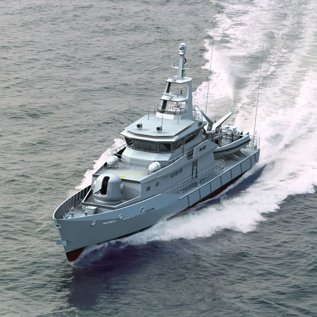 The Mexican Navy and Damen Shipyards Group (the Netherlands) signed another contract for a license, material package and technical assistance of a Damen Stan Patrol 4207. The agreement also includes crew training in the Netherlands.