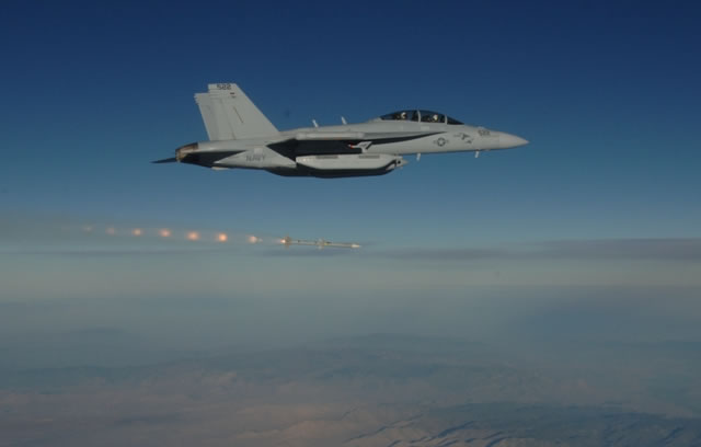 The U.S. Navy recently flew Boeing EA-18G Growler aircraft with sensor system upgrades and its newest data network, demonstrating how the enhanced technologies would allow aircrews to locate threats more quickly and accurately.
