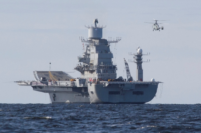 "It is worth reminding that ""Vikramaditya"" left shores of Severodvinsk on 03 Jul 2013. As scheduled, the sea trials of the ship are progressing well in the White Sea. ""Just a couple of hours after undocking, the engine and boilers were started and the ship moved to the trials area of the White Sea,"" said Mr Sergey Novoselov, Head of Foreign Military Cooperation Department."