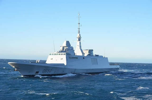 On Monday, 4th February 2013, first of class Aquitaine, the newest class of frigate in the French Navy's fleet, has successfully fired its first MBDA Aster 15 air defence missile in the Mediterranean from the DGA (French Procurement Agency) Missile test centre. The FREMM is the third type of ship of the French Navy equipped with Aster missiles after the Charles de Gaulle nuclear powered Aircraft Carrier (CVN) and the Forbin class air defense Destroyers (DDG).