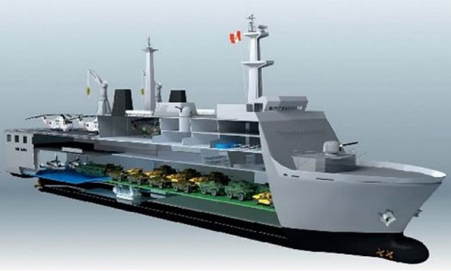 "Details have emmerged regarding the construction of two Landing Platform Dock (LPD) ships for the Peruvian Navy. Known as ""Buque Multipropósito"" these ships will be constructed locally at the SIMA Callao shipyard, with technical assistance from Korean shipbuilder Daewoo Shipbuilding & Marine Engineering (DSME)."