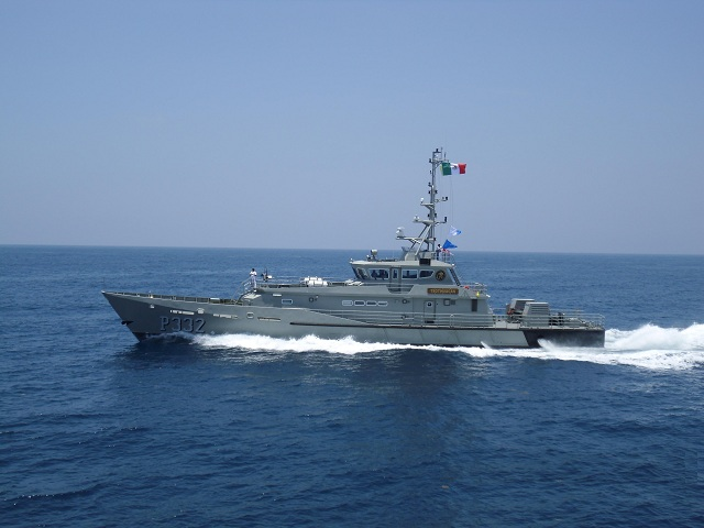 In November 2013 the Mexican Navy (Secretaría de Marina) and Damen Shipyards Group (the Netherlands) signed another contract for a Damen Stan Patrol 4207. The Mexican Navy already operates two similar Patrol Vessels and has currently two ships under construction in their shipyard 'Astillero de Marina Numero 1' in Tampico, which is situated on the coast of the Gulf of Mexico.