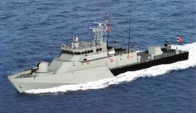 "It was announced during ""Defense & Security 2013"" exhibition that was held recently in Bangkok that national shipyard Marsun will supply a M58 Patrol Gun Boat to the Royal Thai Navy."