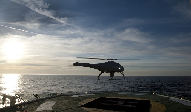 Defence and security company Saab's Unmanned Aerial System (UAS) Skeldar is now operationally deployed on-board the offshore patrol vessel BAM Meteoro. Skedlar is supporting the Spanish Navy with surveillance capabilities while taking part in the EU Atalanta operation in the Gulf of Aden.
