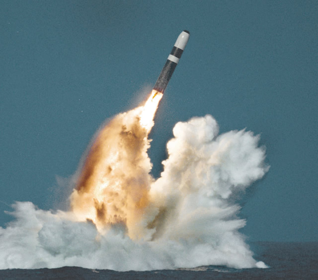 The U.S. Navy has conducted four successful test flights of the Trident II D5 Fleet Ballistic Missiles built by Lockheed Martin. The U.S. Navy launched the unarmed missiles Sept. 10 and 12 in the Atlantic Ocean from a submerged Ohio-class submarine home-ported at Naval Submarine Base Kings Bay, Georgia.